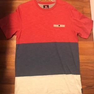 Quiksilver pocket t shirt